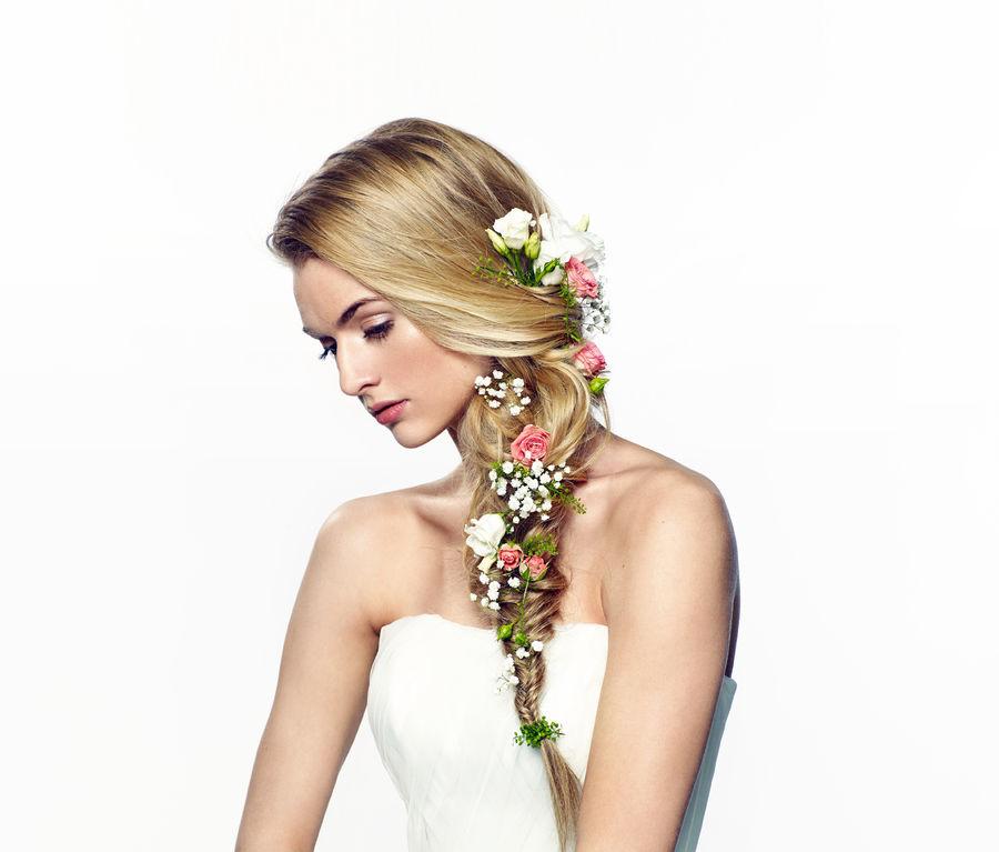 fryzura ślubna salon gdńsk panna młoda